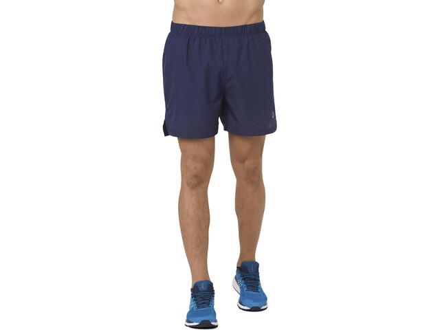 "asics Cool 2-N-1 5"" Shorts Men peacoat"
